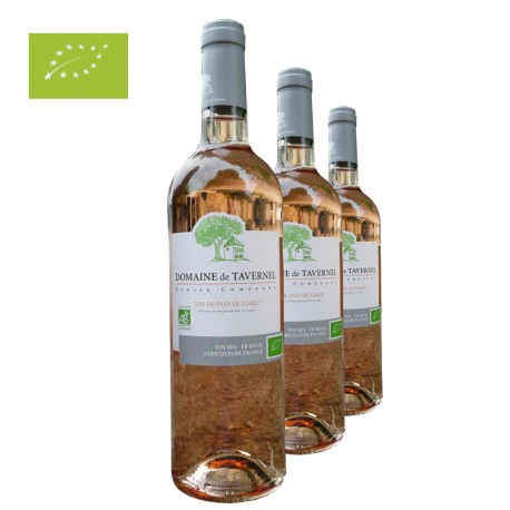BOUTEILLE ROSE TAVERNEL BIO 750ML